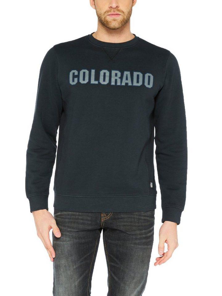 COLORADO DENIM Sweatshirt »Djego« in black