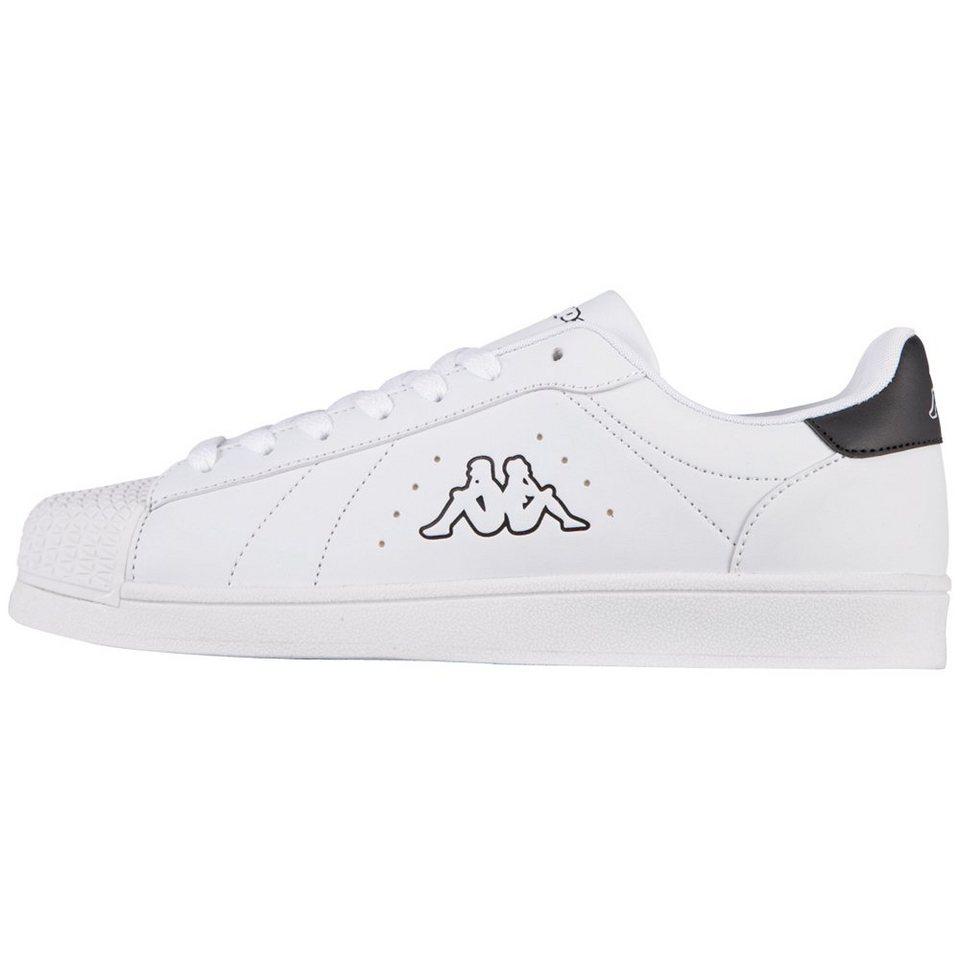 KAPPA Sneaker »Olymp« in white/black