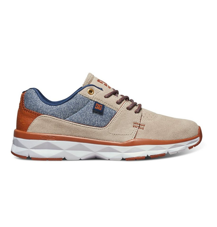 DC Shoes Low top »Player SE« in Blue/brown/blue