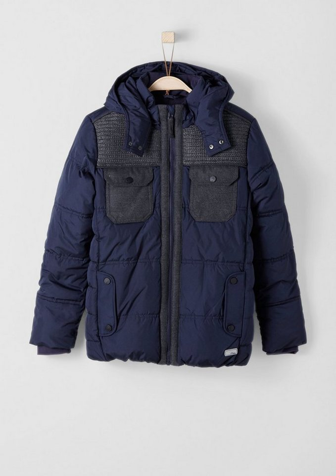 s.Oliver RED LABEL Junior Multifunktionale Winterjacke für Jungen in dark blue