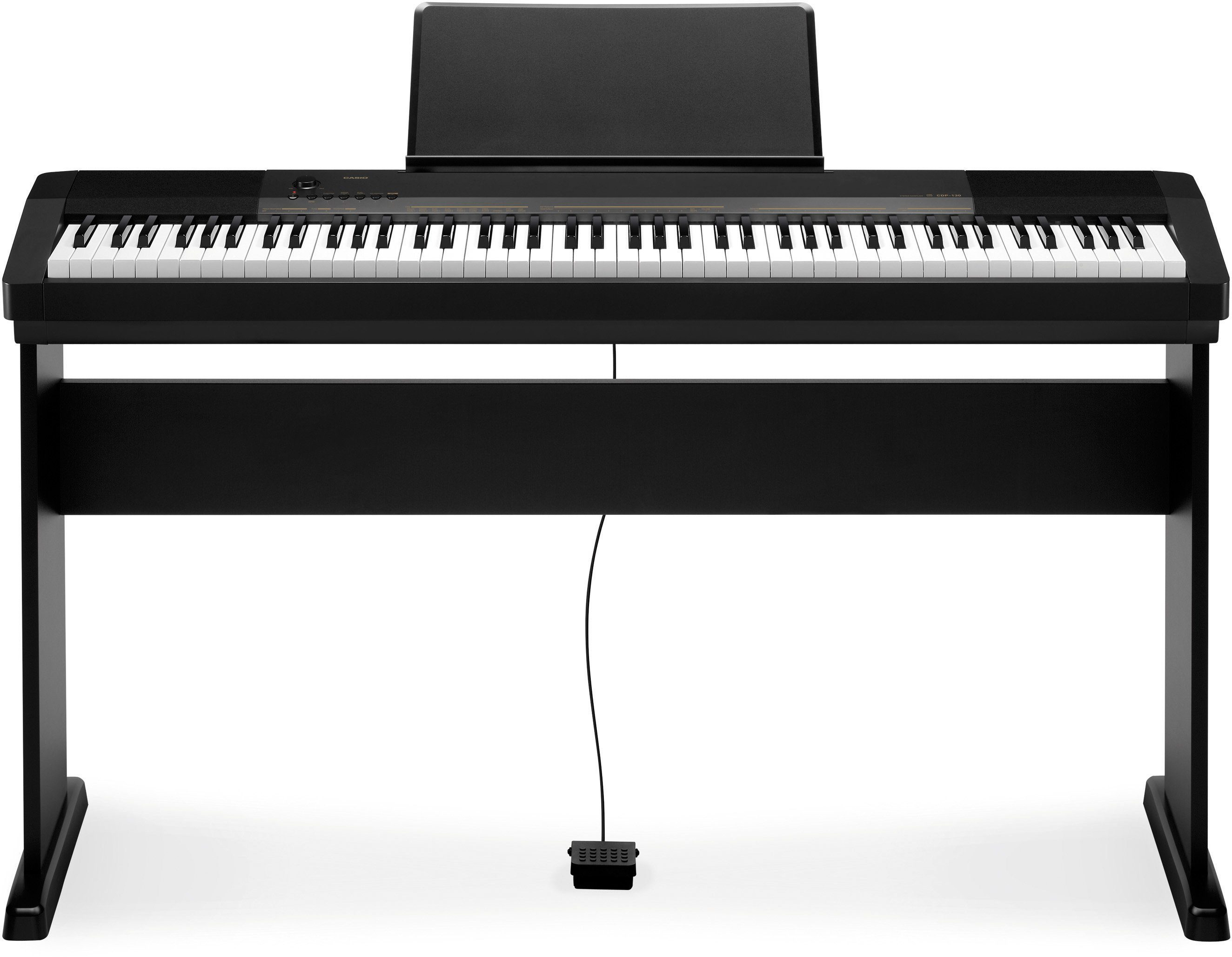 Casio® Compact Digital Piano, »CDP 130BK Set«