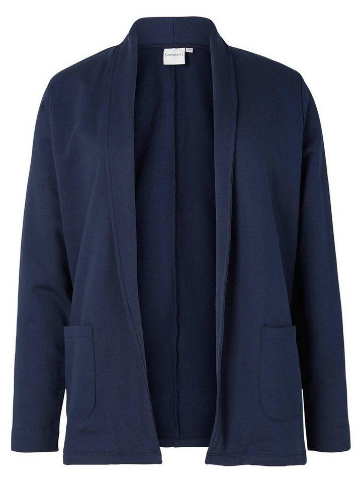 JUNAROSE Jersey- Blazer in Black Iris