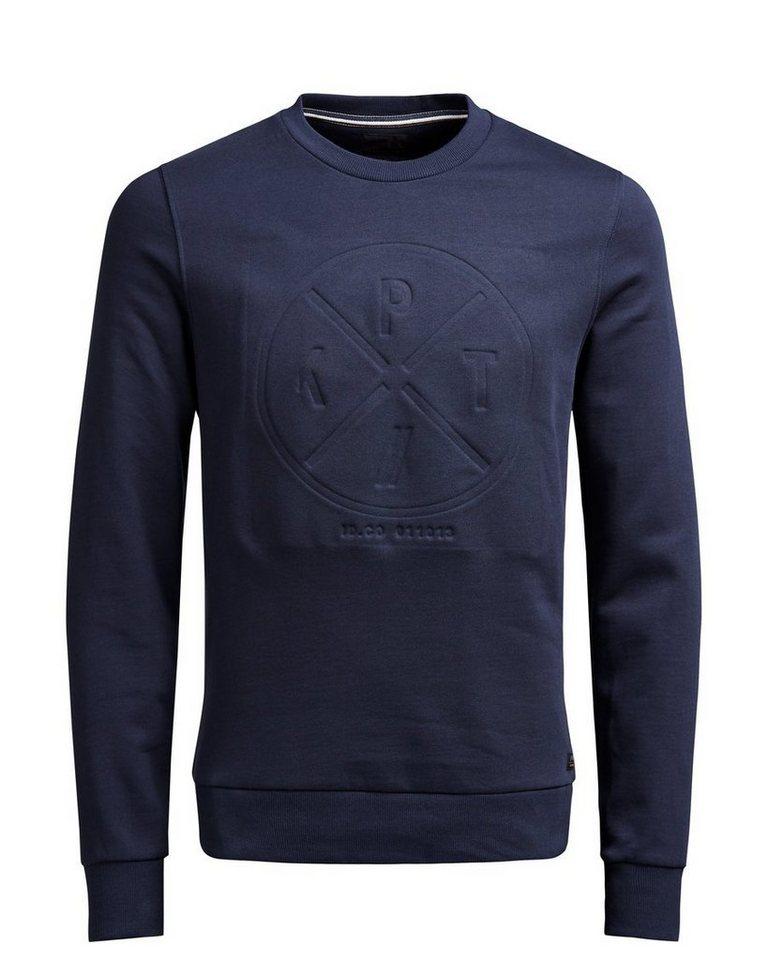 PRODUKT Männlicher Pullover in Navy Blazer