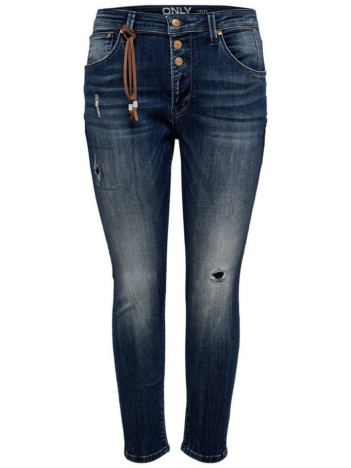 Only Liberty Anti-fit-jeans in Medium Blue Denim