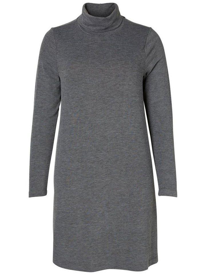 JUNAROSE Formgebendes Kleid in Dark Grey Melange