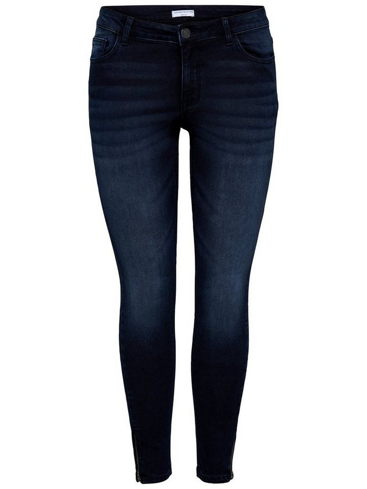 Only JDY Low Ankle Skinny Fit Jeans in Black