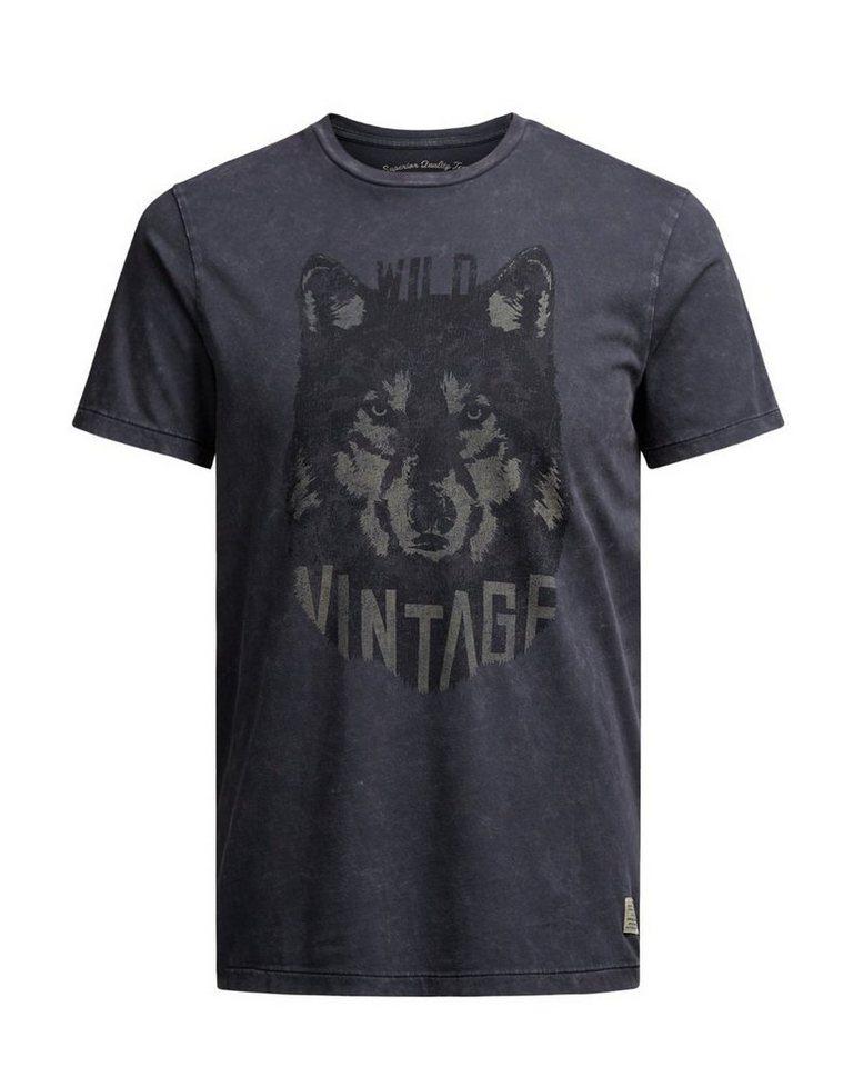 Jack & Jones Artwork- T-Shirt in Caviar