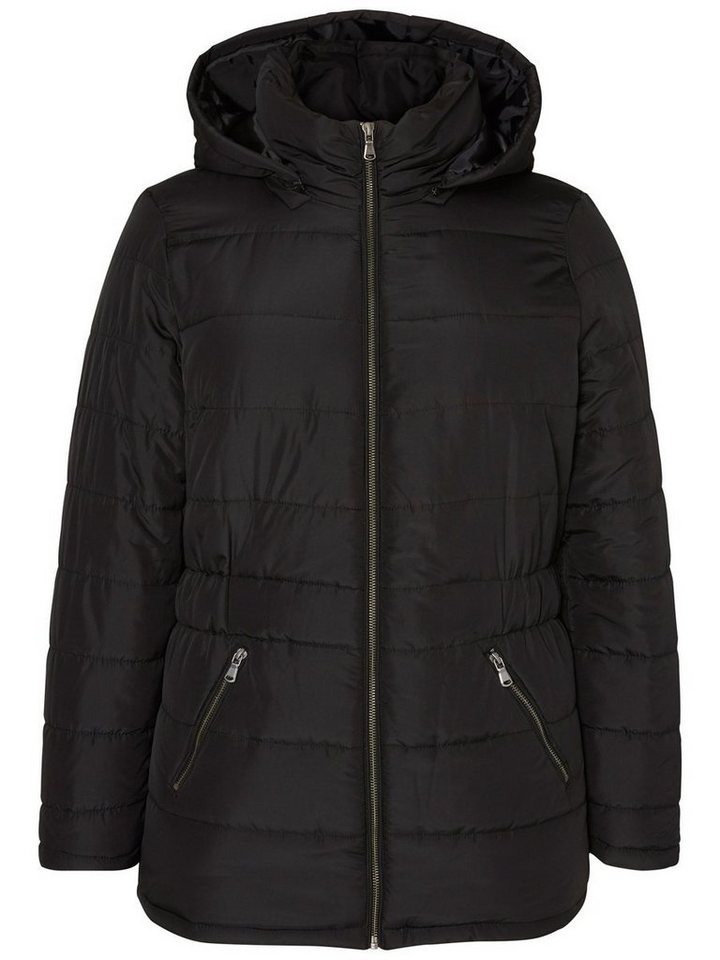 JUNAROSE Kurze Jacke in Black