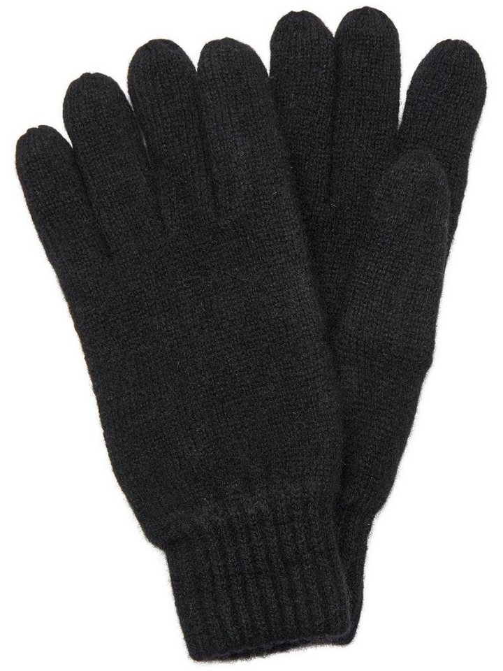 Selected Woll- Handschuhe in Black