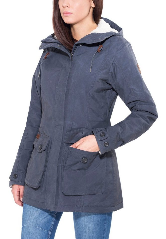 Columbia Outdoorjacke »Prima Element Jacket Women« in blau