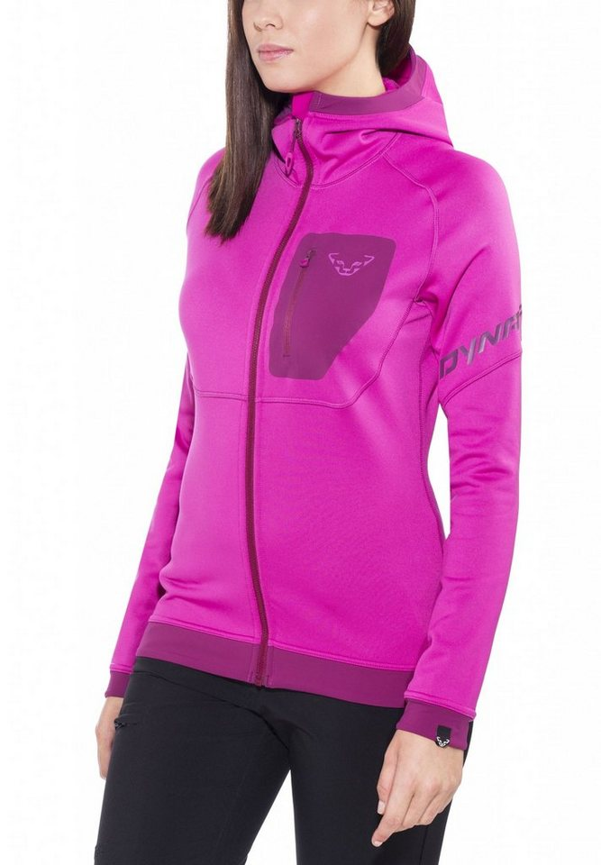 Dynafit Outdoorjacke »Thermal Layer 4 Hoody Women« in pink
