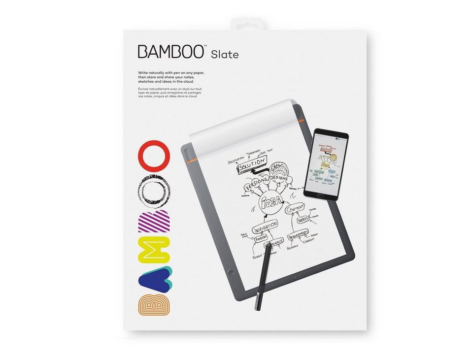 Wacom Stift-/Touchtablet »BAMBOO SLATE LARGE Digitaler ...
