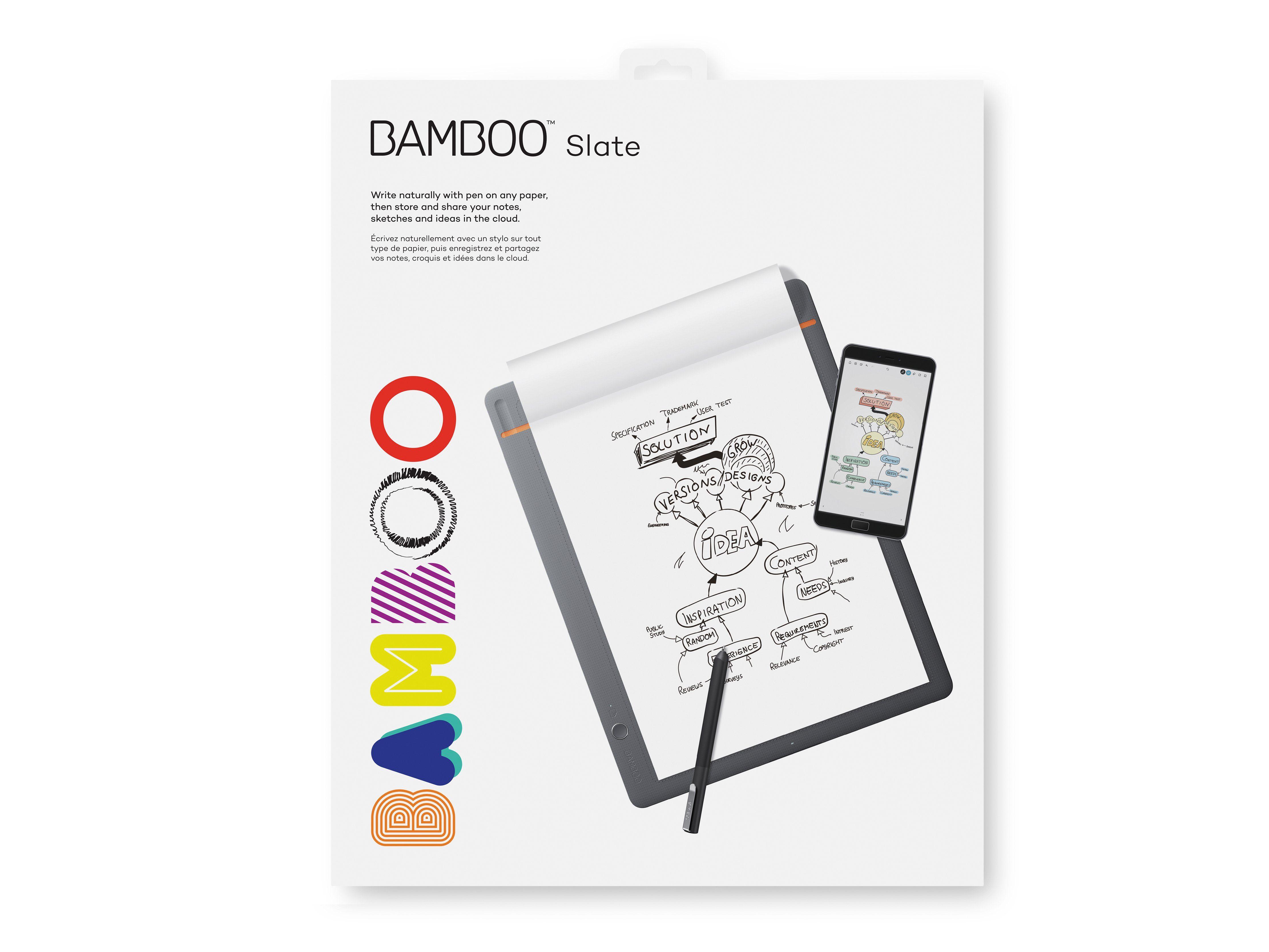 Wacom Stift-/Touchtablet »BAMBOO SLATE LARGE Digitaler Notizblock«