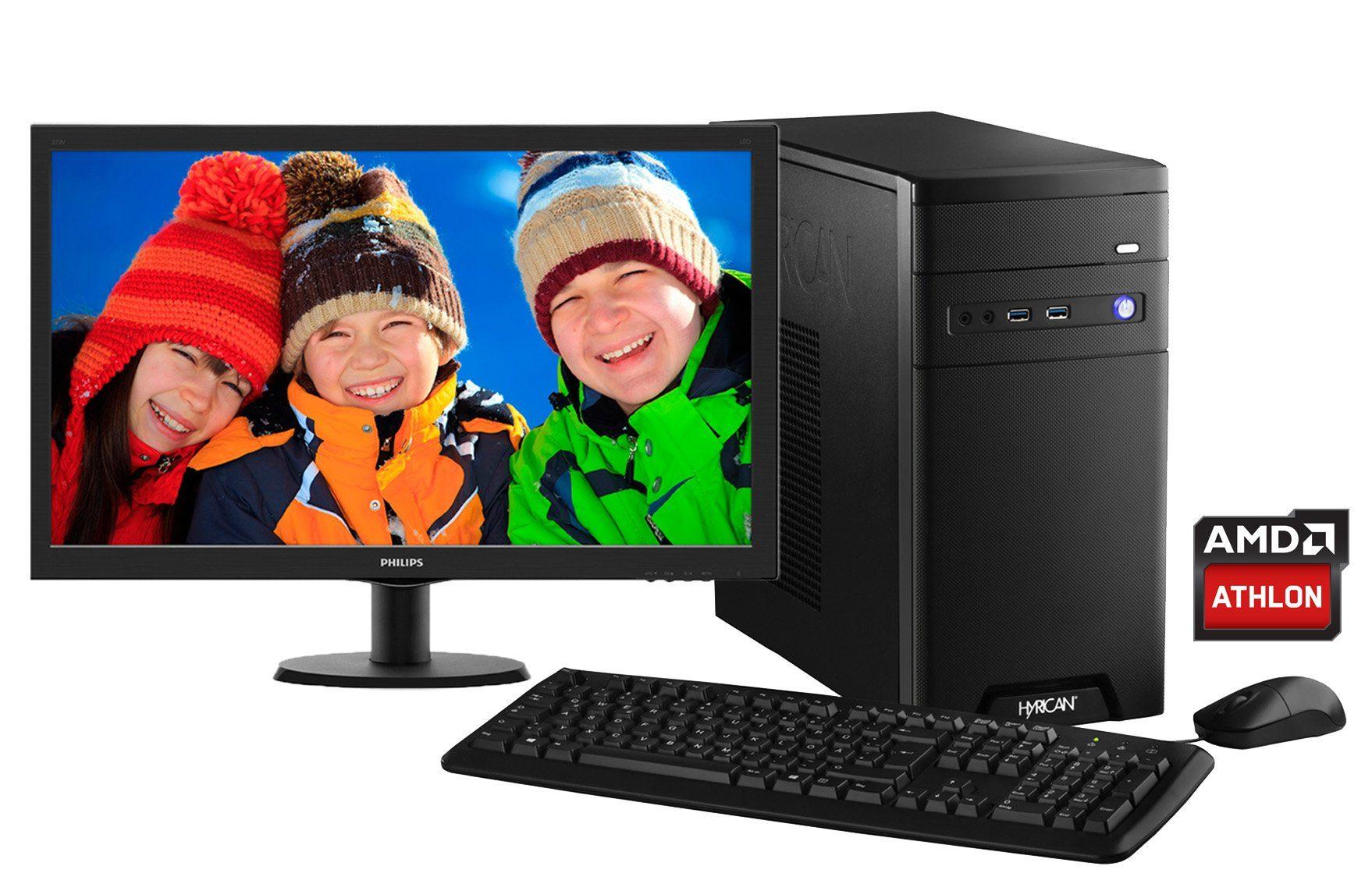 Hyrican PC AMD Athlon® X4 880K, Geforce™ GTX 1050 + Monitor »CyberGamer SET01112«