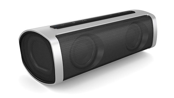 Onkyo Bluetooth Lautsprecher »OKAX6/10« in silber