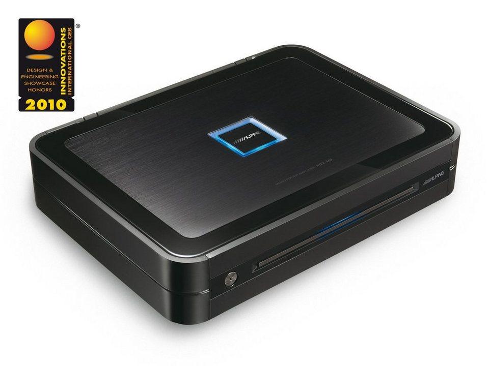 ALPINE Digitaler Mono Verstärker »PDX-M6« in schwarz