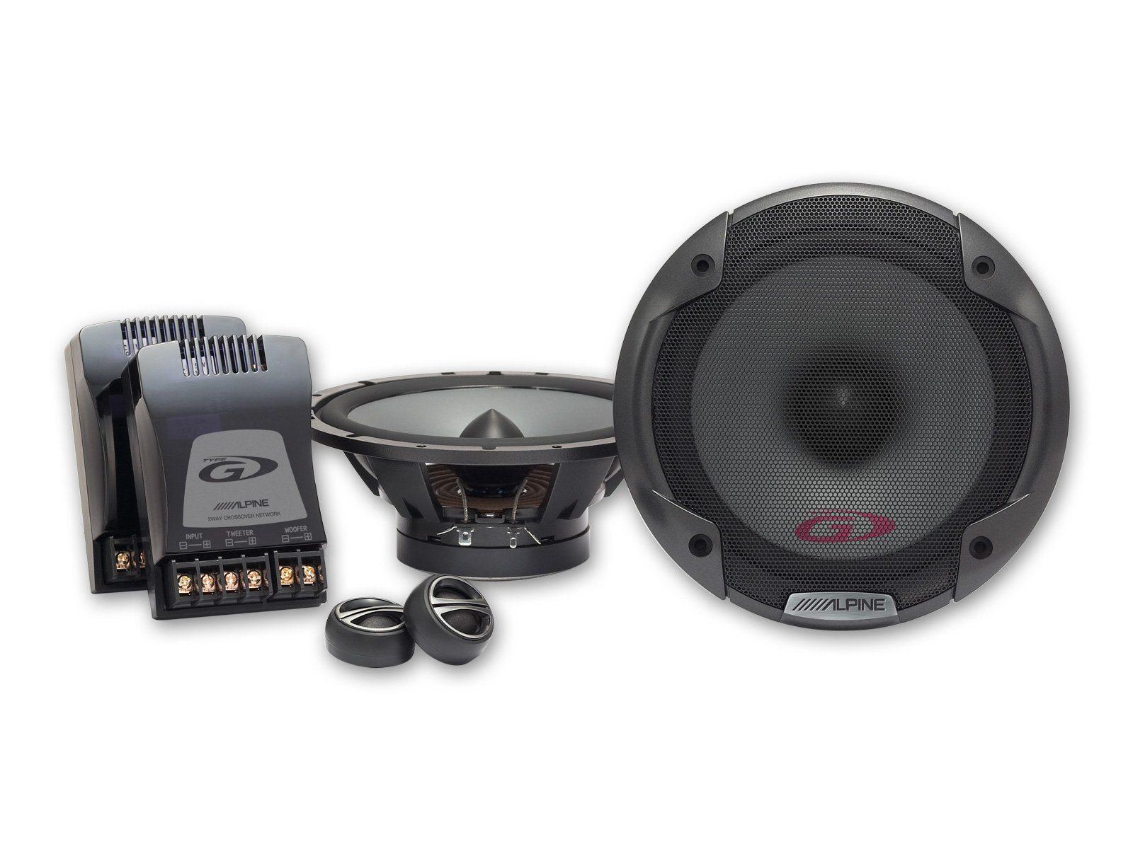 ALPINE 2 Wege Lautsprechersystem »SPG-17CS«