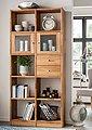 Premium collection by Home affaire Standregal, aus massiver Wildeiche, mit vielen Stauraummöglichkeiten, Höhe 202 cm, Bild 1