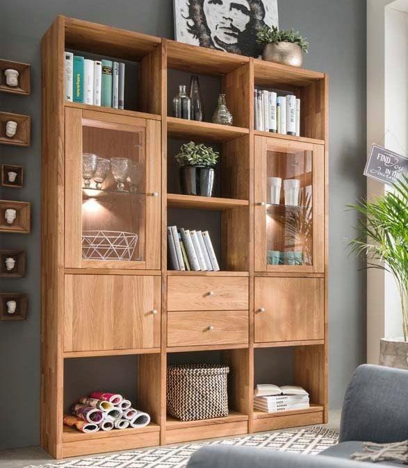 Premium collection by Home affaire Regal »Ecko«, Breite 136 cm in wildeiche