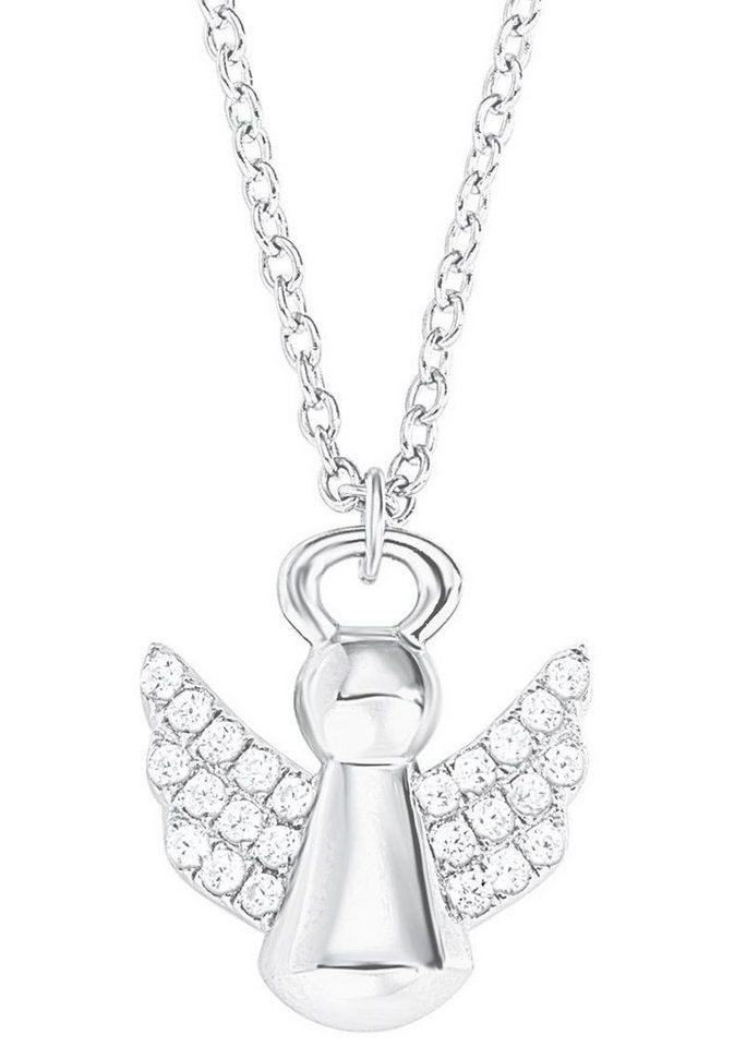 s.Oliver RED LABEL Junior Silberkette »Engel, 2012458« mit Zirkonia in Silber 925