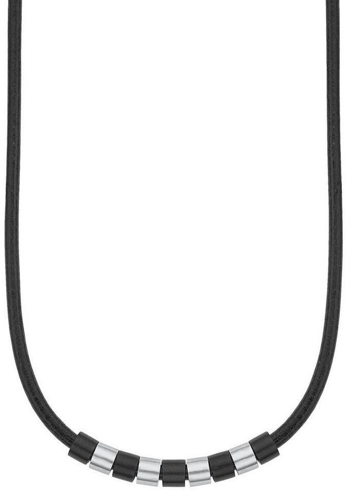 s.Oliver RED LABEL Junior Kette ohne Anhänger »2012460« in schwarz-silberfarben