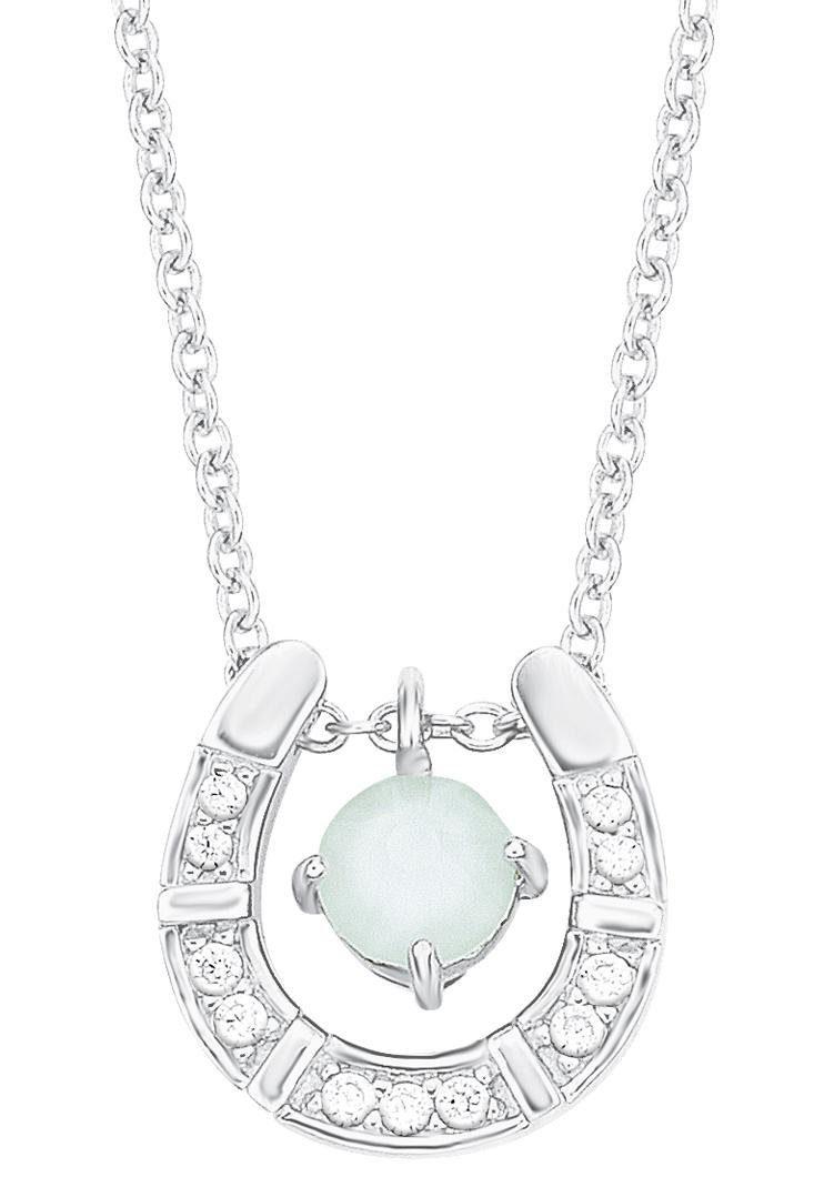 s.Oliver RED LABEL Junior Silberkette »Hufeisen, 2012519« mit Swarovski® Kristall und Zirkonia