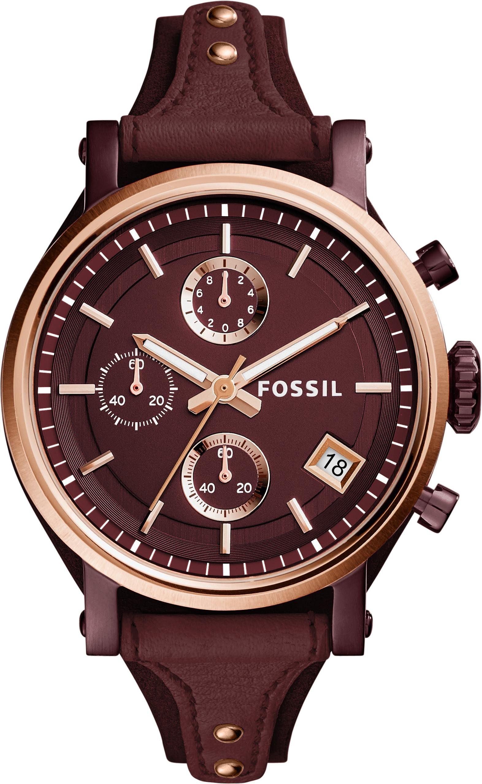 Fossil Chronograph »ORIGINAL BOYFRIEND, ES4114«