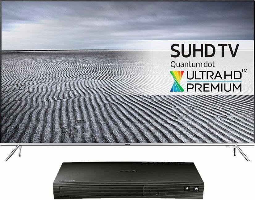 Samsung 55KS7090, LED Fernseher, 138 cm (55 Zoll), 2160p (SUHD), Smart-TV