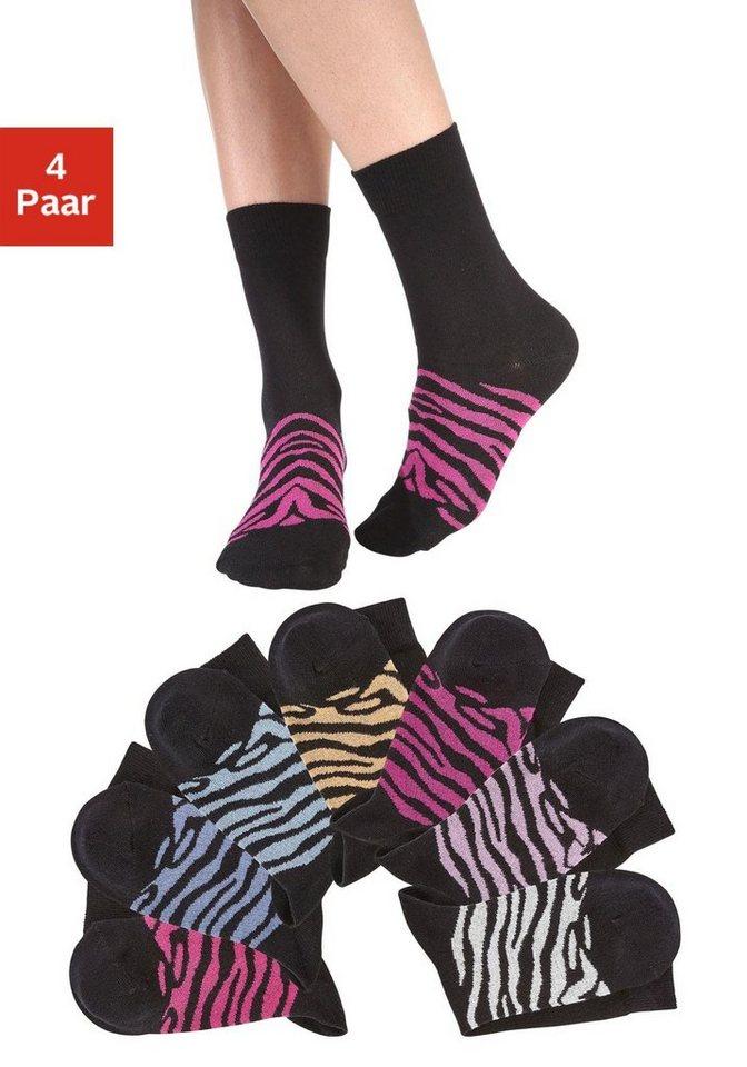 Arizona Socken (7 Paar) in 7x schwarz sortiert