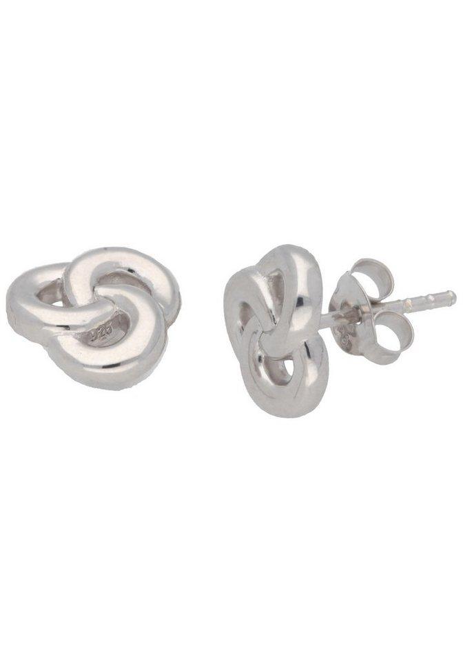Firetti Paar Ohrstecker »Knoten« in Silber 925