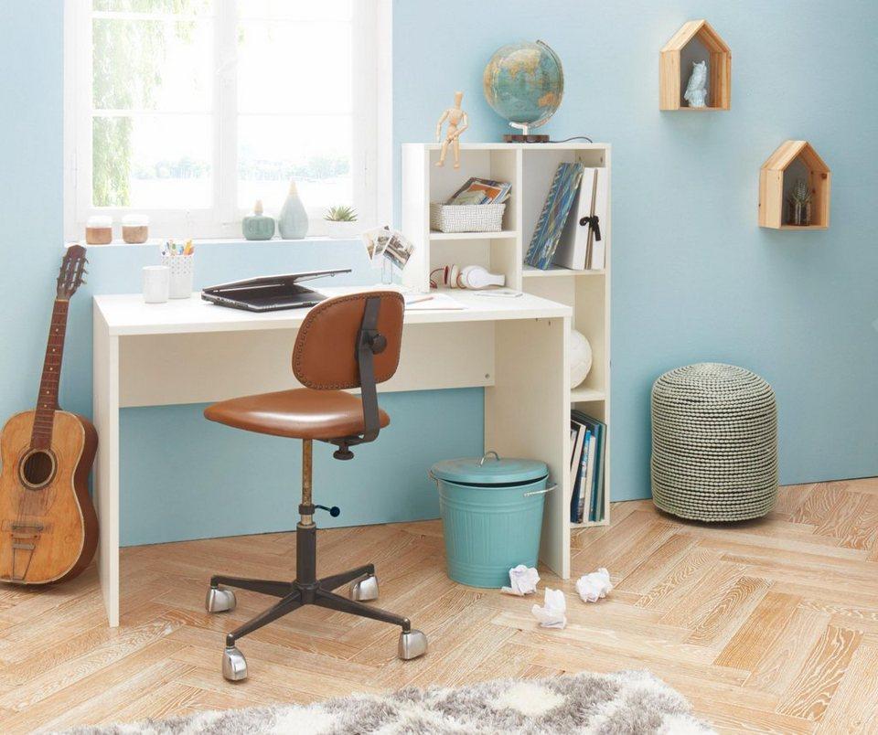 Schreibtisch in weiß