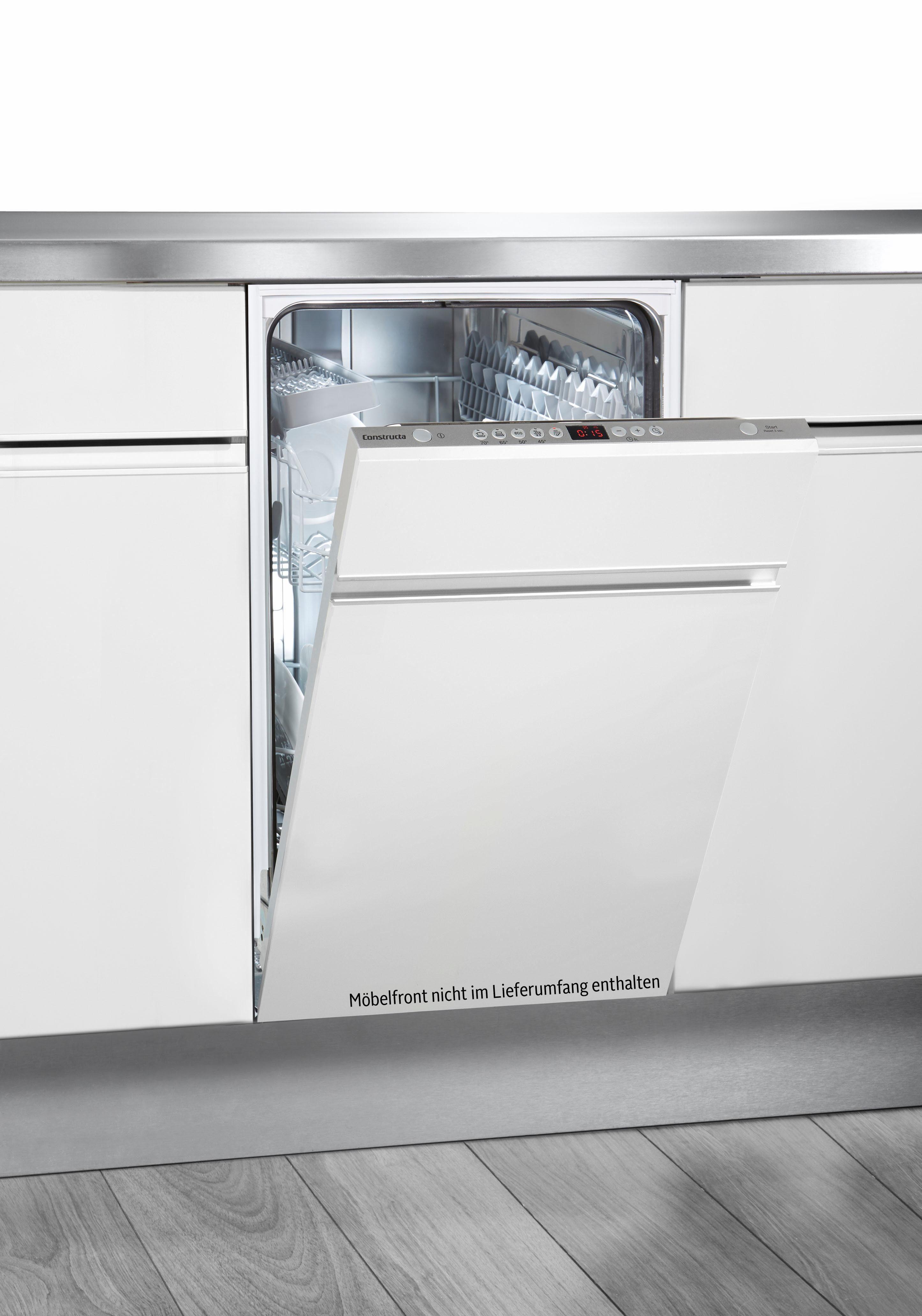 Constructa vollintegrierbarer Geschirrspüler, CP5A50V8, 9,5 l, 9 Maßgedecke, Energieeffizienzklasse A+