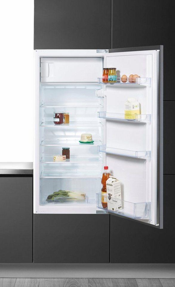 Constructa Integrierbarer Einbaukühlschrank CK64430, A++, 122,5 cm hoch in weiß