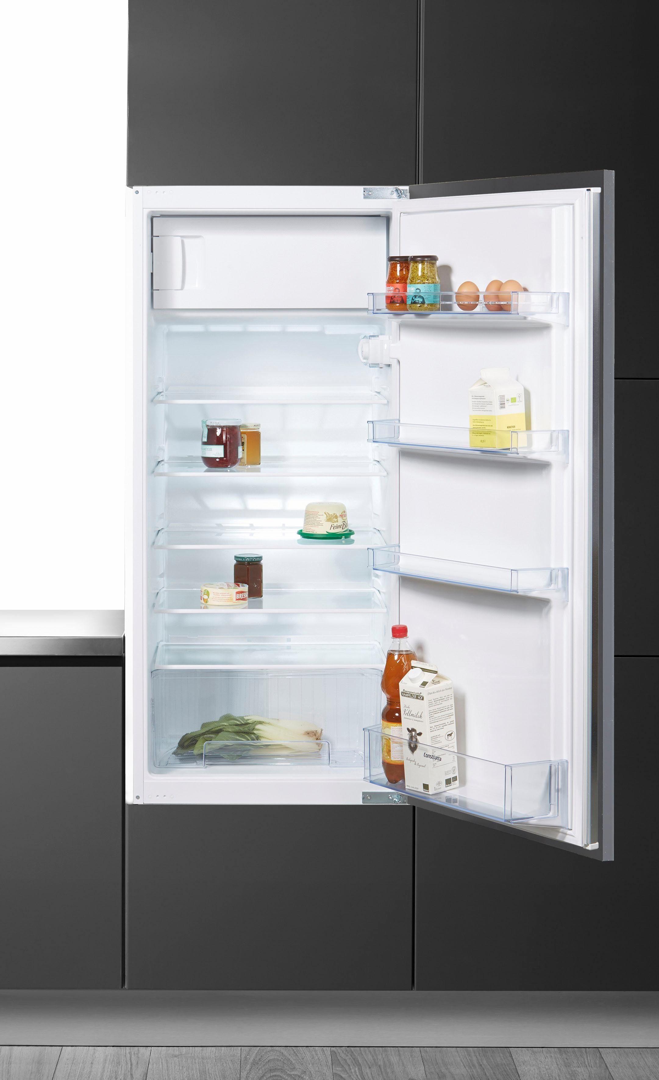 Constructa Integrierbarer Einbaukühlschrank CK64430, A++, 122,5 cm hoch