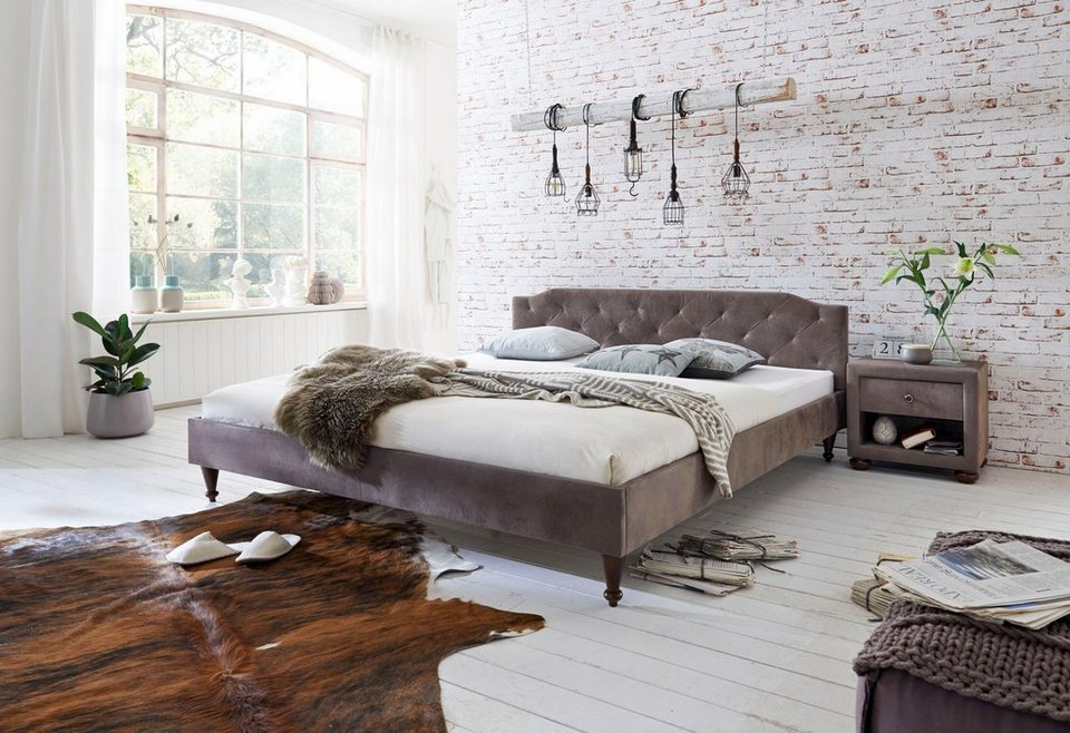 home affaire polsterbett viola online kaufen otto. Black Bedroom Furniture Sets. Home Design Ideas