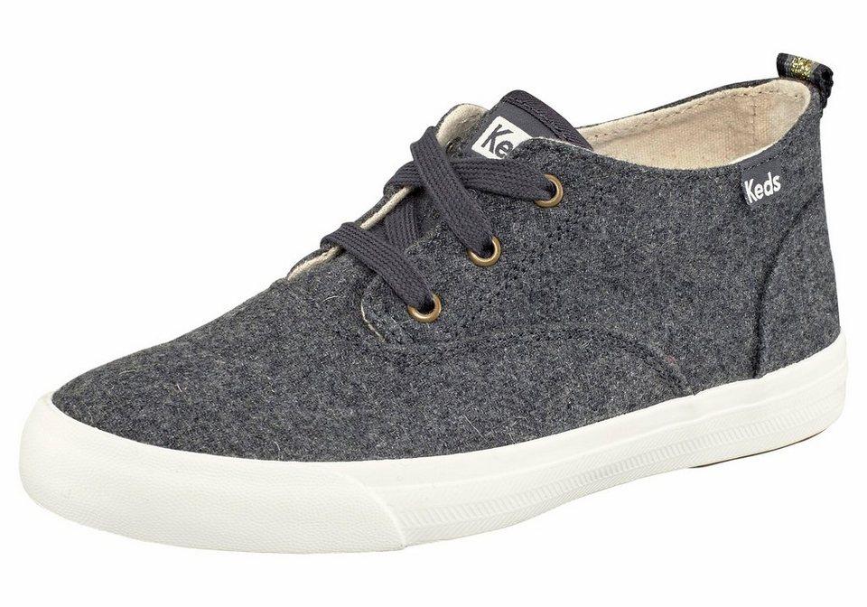 Keds »Triumph Mid Wool« Sneaker in grau