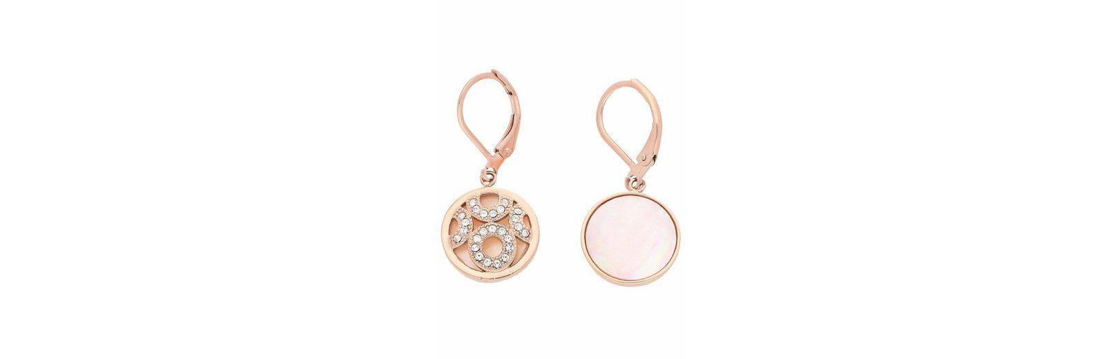 Firetti Paar Ohrhänger mit Kristallsteinen