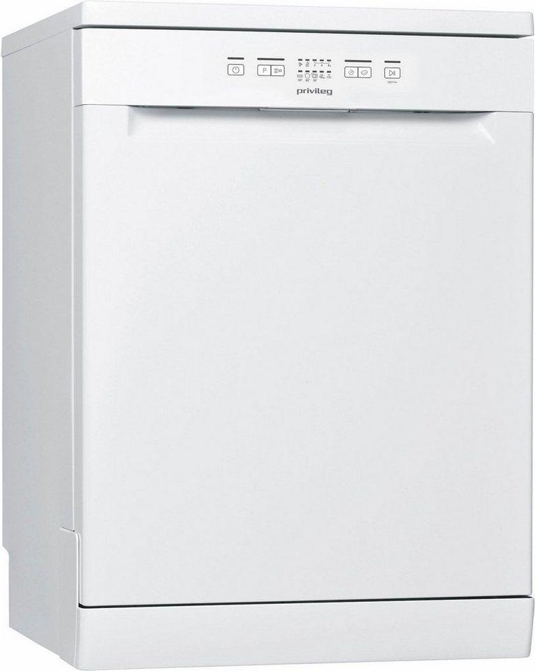 Privileg Geschirrspüler RFE 2B19, A+, 11 Liter, 13 Maßgedecke in weiß