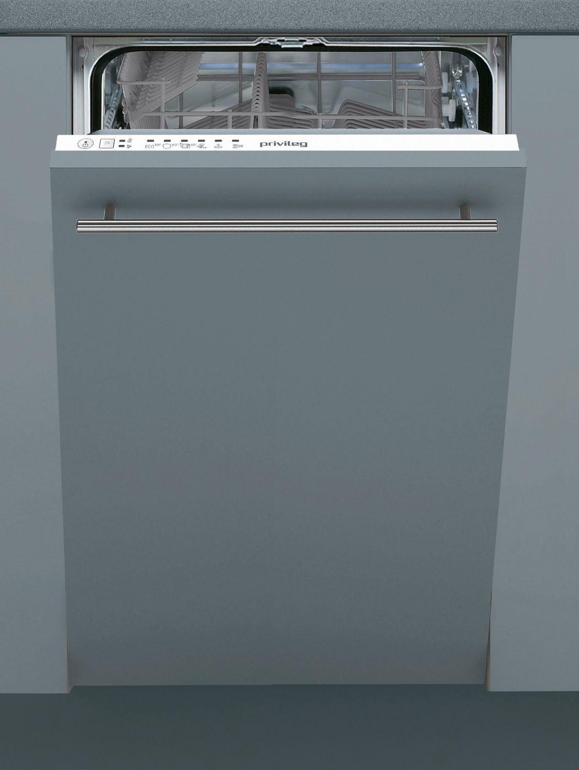 Privileg Vollintegrierbarer Einbaugeschirrspüler RSIE 2B19, A+, 10 Liter, 10 Maßgedecke