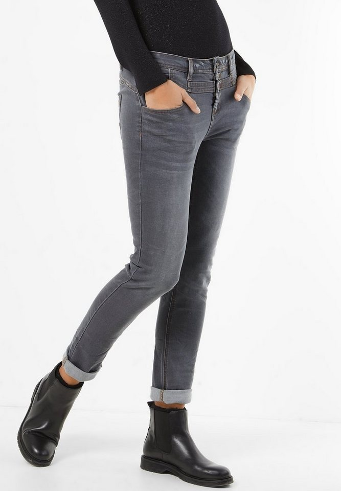 Street One Graue Denim Mika in authentic grey wash