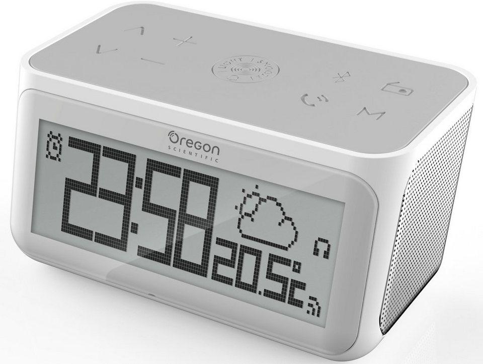 Oregon Scientific Radiowecker mit Internetfunktion, »CIR 100, 2487« in grau