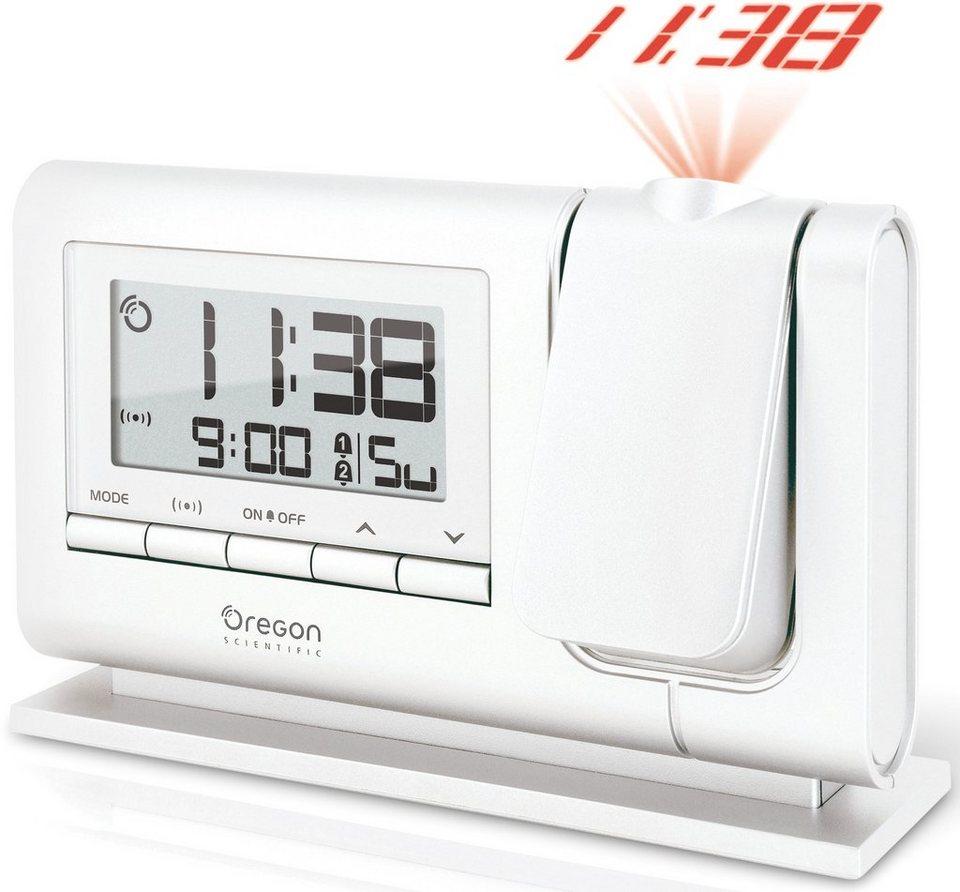 Oregon Scientific Projektionsuhr, »RM 308P full white, 2485« in weiß
