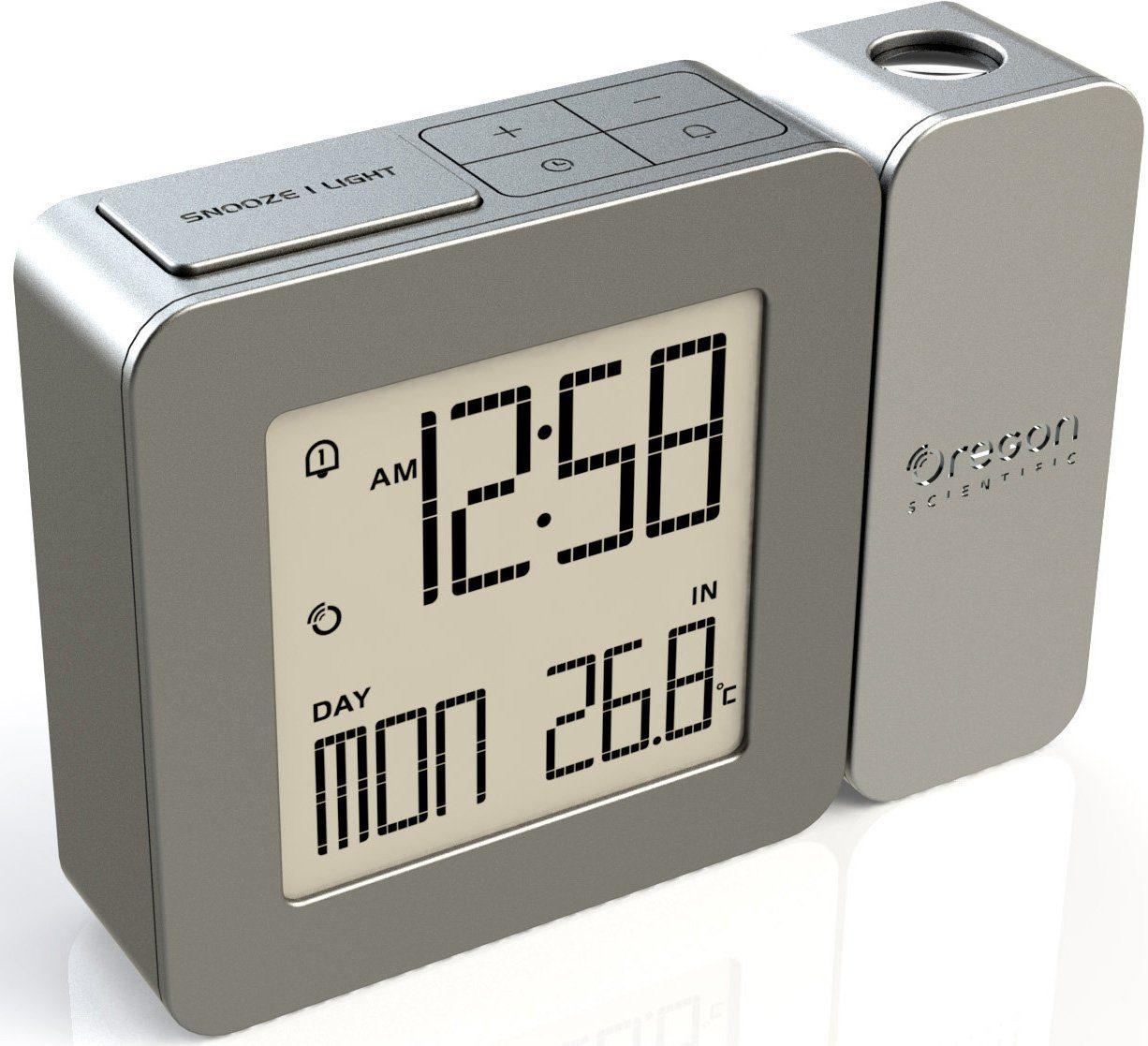 Oregon Scientific Projektionsuhr, »RM 338P warm grey, 2484«