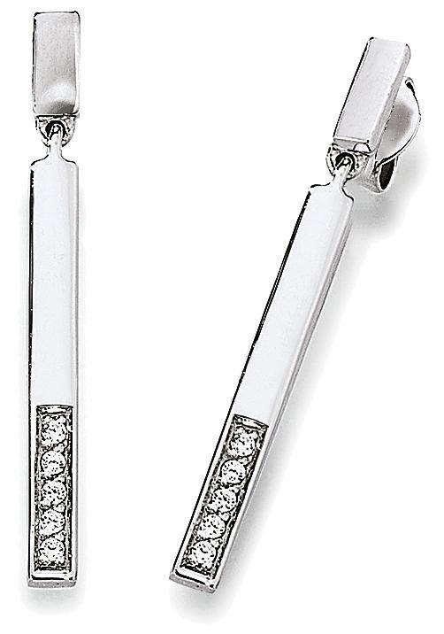 VIVENTY Paar Ohrstecker »775894« mit Zirkonia in Silber 925