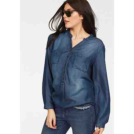 FRAPP Jeansbluse