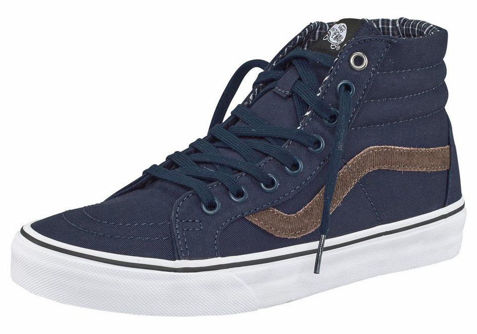 Vans »SK8-Hi Reissue (Cord & Plaid)« Sneaker in marine