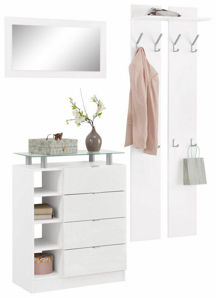 borchardt m bel garderoben set dolly 3 tlg mit. Black Bedroom Furniture Sets. Home Design Ideas