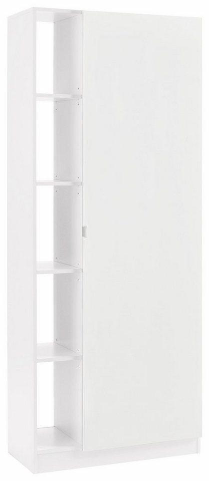 Flurschränke und Regale - Borchardt Möbel Garderobenschrank »Dolly« mit 5 offenen Fächern und Metallgriffen  - Onlineshop OTTO
