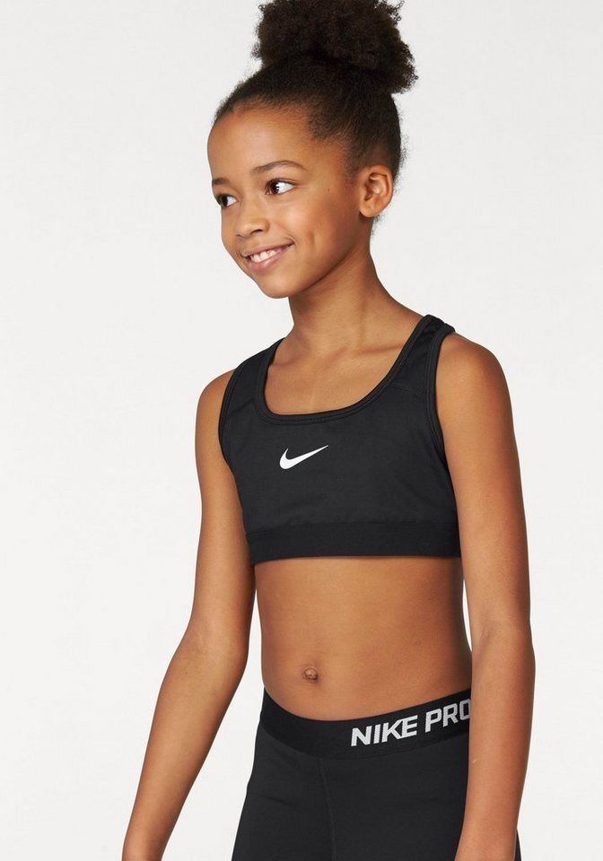 nike sport bh girl nike pro bra classic kaufen otto. Black Bedroom Furniture Sets. Home Design Ideas