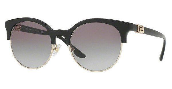 Versace Damen Sonnenbrille » VE4342«, schwarz, GB1/11 - schwarz/grau